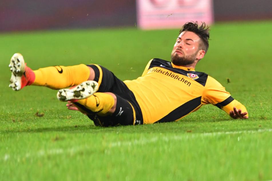 Niklas Kreuzer fällt für das Sachsen-Derby gegen den FC Erzgebirge Aue aus.