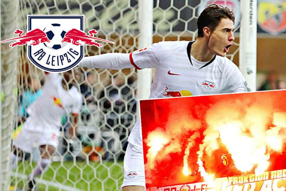 Blitzstart, Pyro, Tumult: RB Leipzig zittert sich gegen BVB-Schreck Paderborn an die Spitze