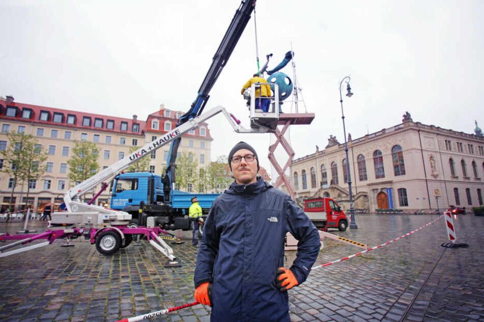 Dresden: Umstrittenes Denkmal auf Neumarkt muss ins Archiv