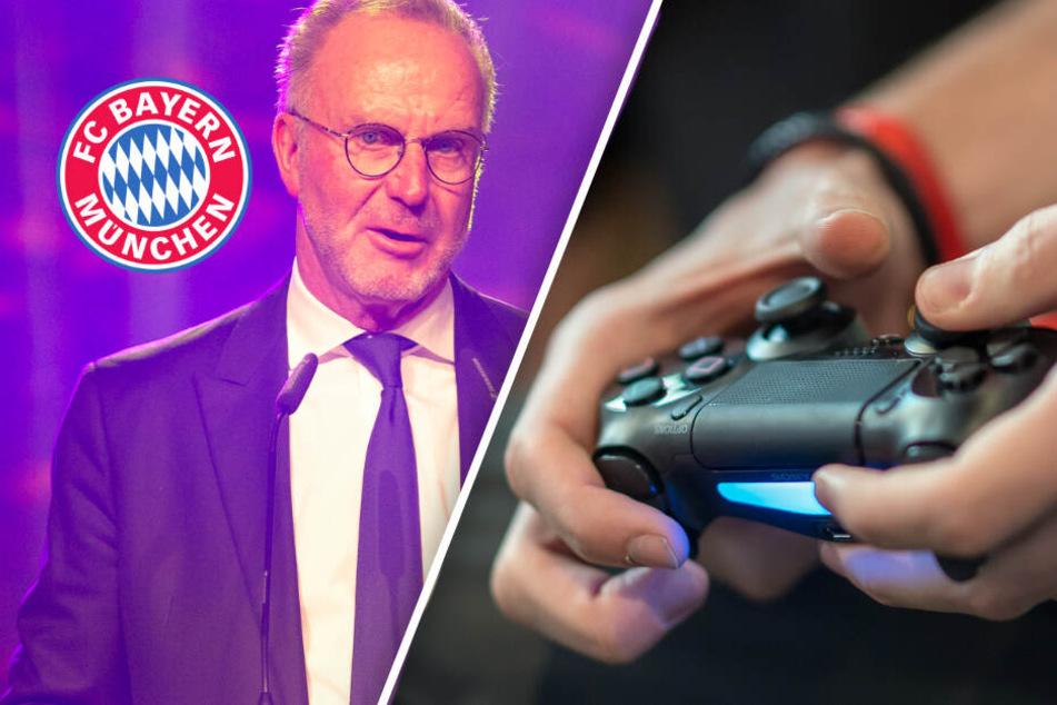 FC Bayern kurz vor Einstieg in e-Sport? Karl-Heinz Rummenigge lässt aufhorchen