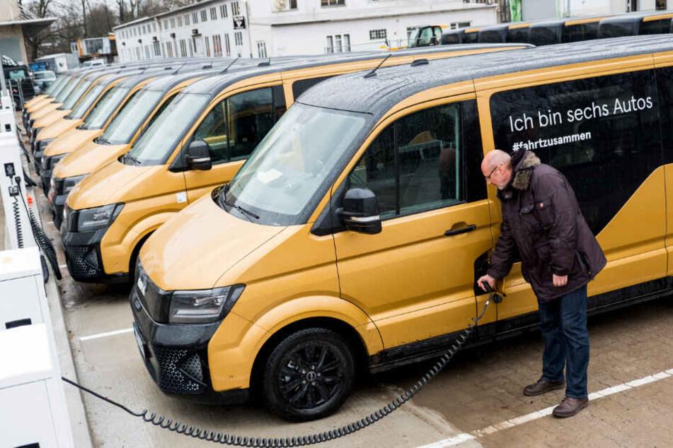 VW macht Taxis und Nahverkehr mit E-Bussen Konkurrenz