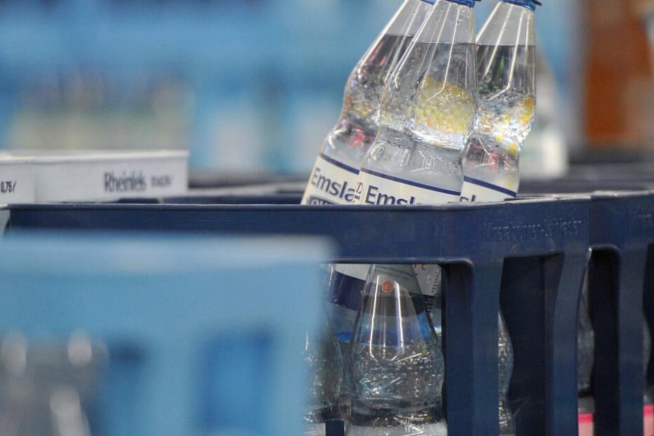 Bereits ab 25 Grad steigt die Nachfrage nach Mineralwasser & Co. an.