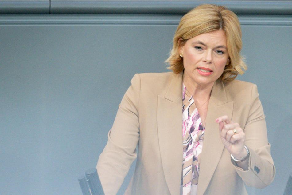 Berlin: Schweinepest: Julia Klöckner will Schäden begrenzen