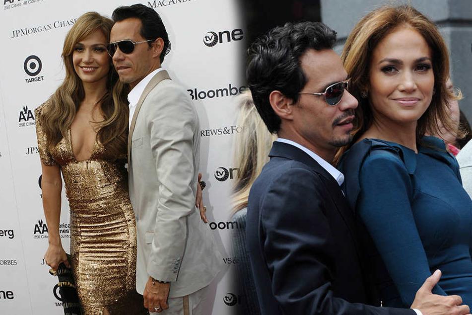 Jennifer Lopez und Marc Anthony sind aber auch ein hübsches Paar.