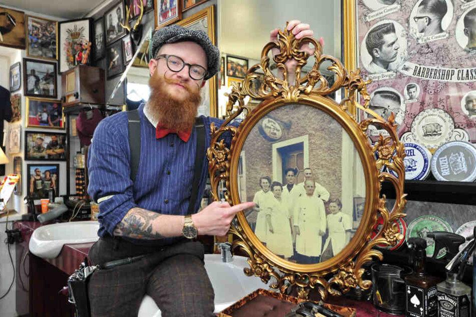Thomas Walther führt den familieneigenen Friseursalon in der 4. Generation.