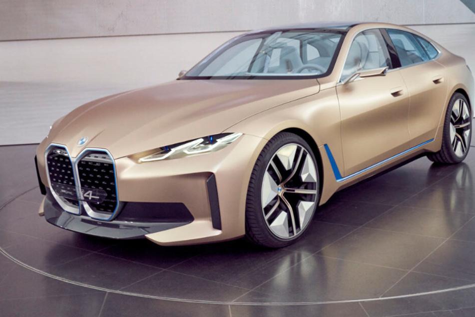 520 PS, 600 Kilometer Reichweite: BMW präsentiert Elektroauto i4