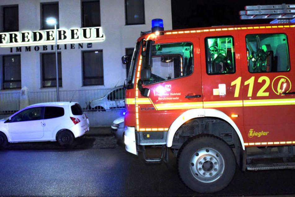 Nachdem die Familie in der Notaufnahme war, wurde die Feuerwehr alarmiert.