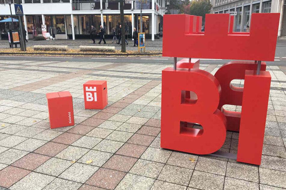 Das neue Logo der Stadt Bielefeld.