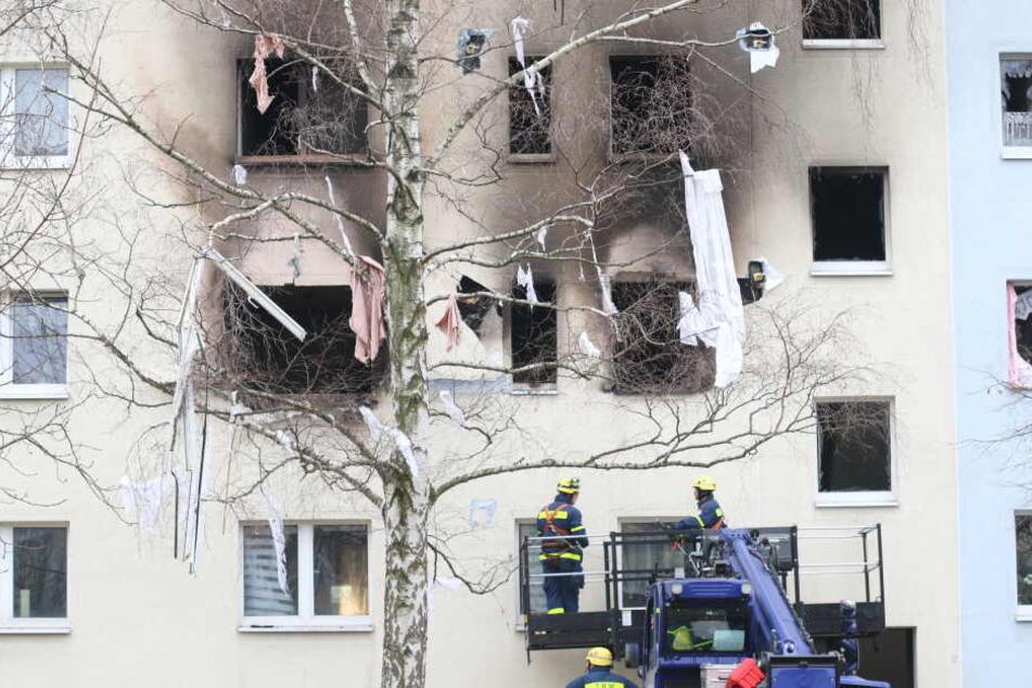Am 13. Dezember hatte eine heftige Explosion einen Plattenbaublock in Blankenburg im Harz erschüttert.