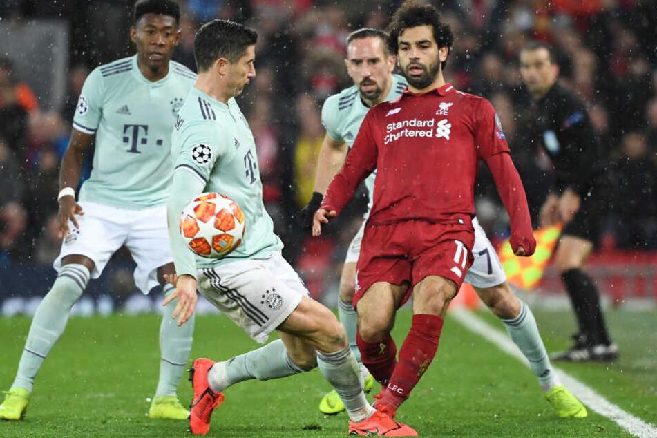 Der FC Bayern München erarbeitete sich beim FC Liverpool in der CL ein Remis.