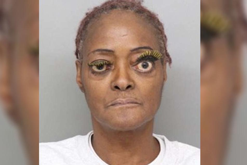 Charlene Thompson wurde mit diesem merkwürdigen Fahndungsbild gesucht.