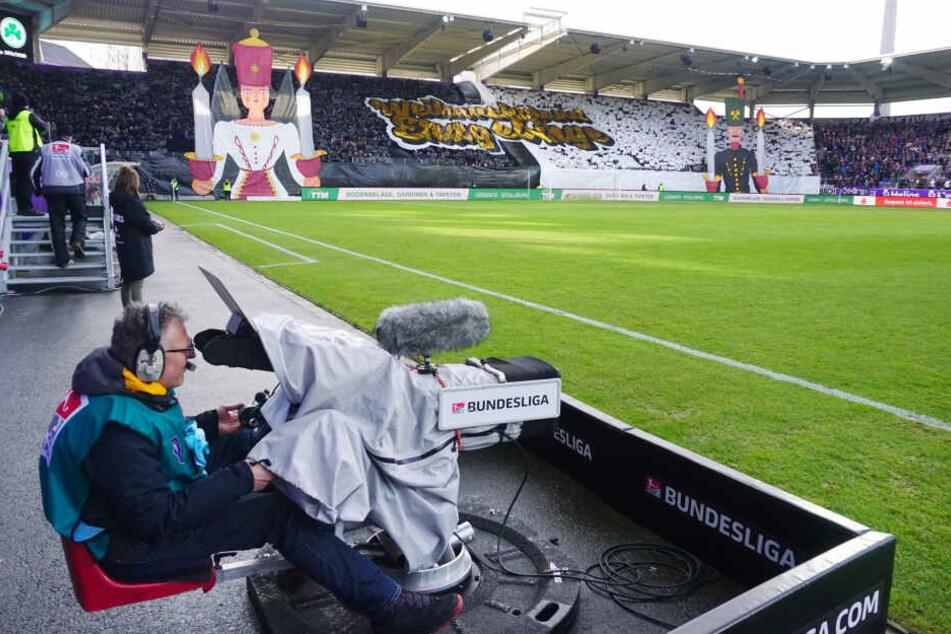 Aus den TV-Fleischtöpfen der DFL gibt es für Aue in der 2. Liga zwischen neun und zehn Millionen Euro. Jetzt muss nur noch der Ligaverbleib gesichert werden.