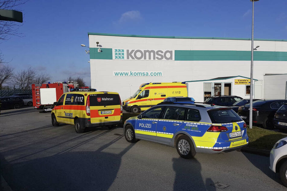 Offenbar ist am Freitag auf dem Gelände der Komsa-Gruppe im Stadtteil Wittgensdorf ein verdächtiges Paket eingegangen.