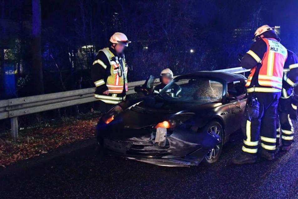 Zwei Schwerverletzte nach Crash zwischen Elektro-Sportwagen und Suzuki
