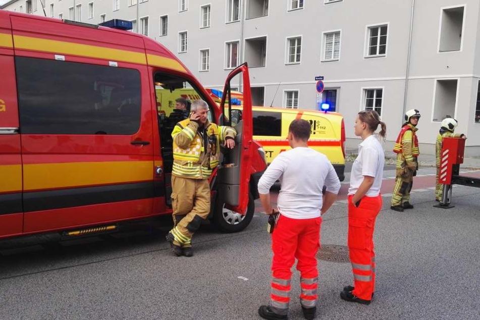 Die Rettungskräfte rückten alle an, doch ein Ballon war nicht abgestürzt.