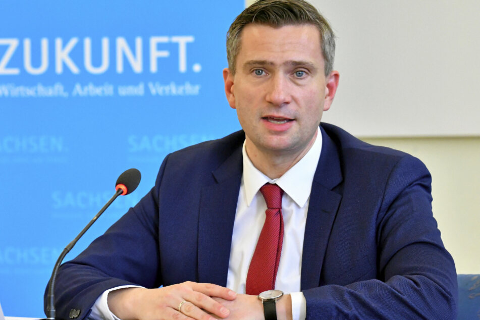 Sachsens Wirtschaftsminister Martin Dulig (46, SPD) (Archivbild).