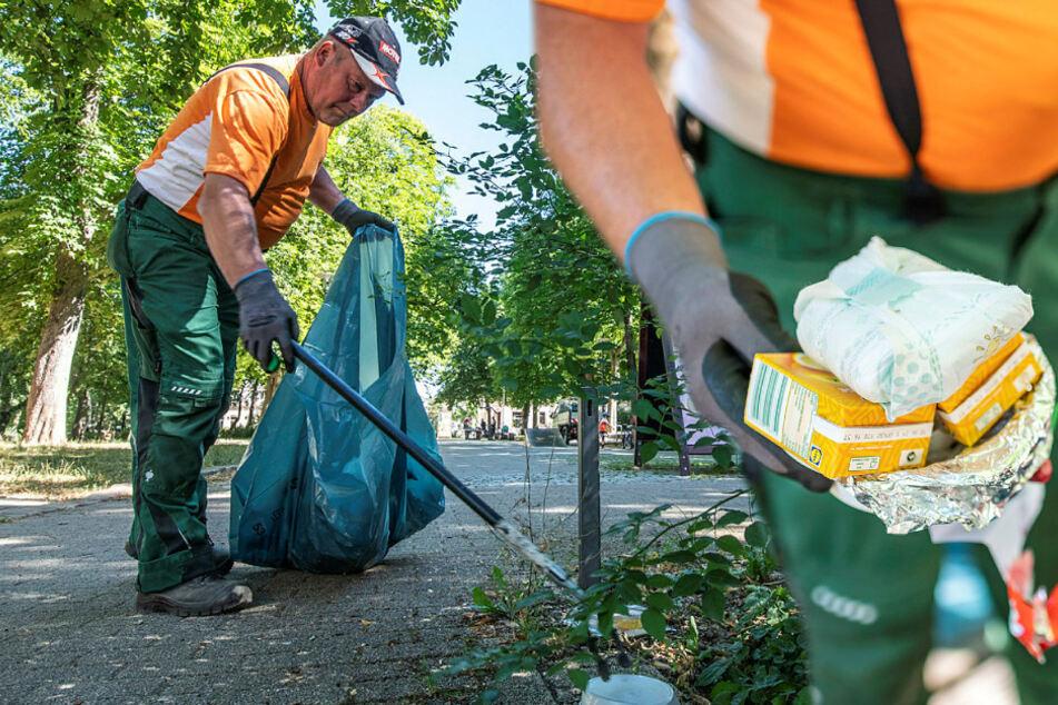"""Party-Volk auf Grünflächen! Rathäuser klagen über """"Corona-Müll"""" in Parks"""