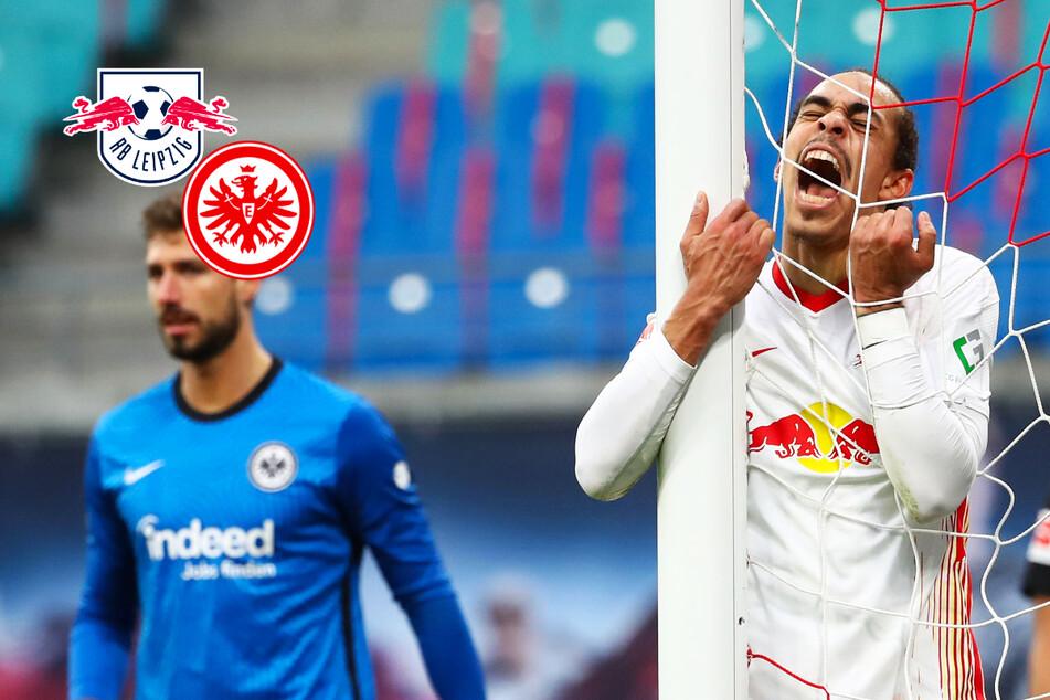 Titelkampf entschieden? RB Leipzig kommt nicht über Remis gegen die Eintracht hinaus