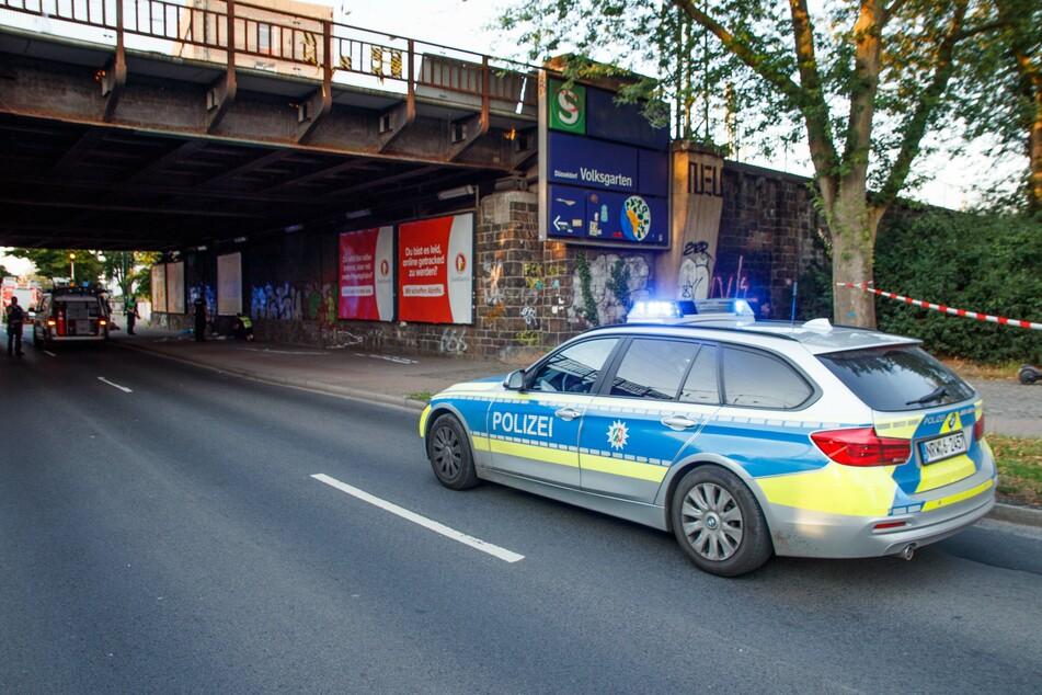 Der tödliche Unfall ereignete sich im Bereich einer Unterführung am Volksgarten in Düsseldorf.