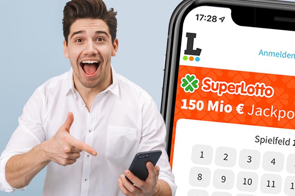 Deutschland spielt Samstag (8.5.) SuperLotto! Es geht um 150 Mio. Euro!