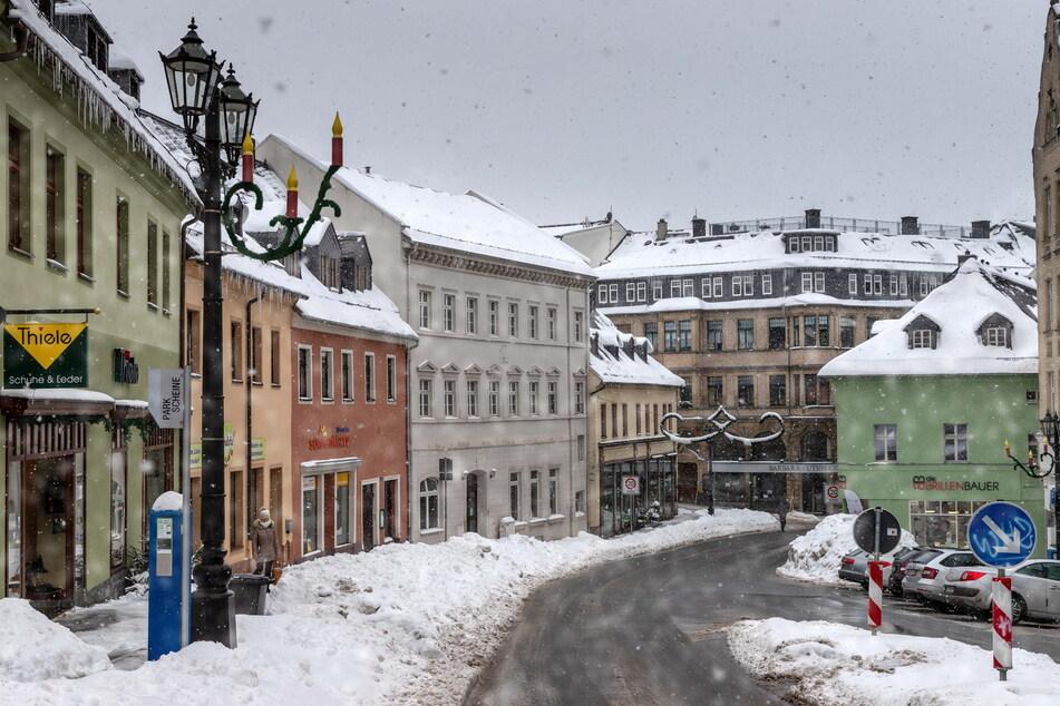 Der Wolkensteiner Straße in Annaberg-Buchholz droht das Aus als Einkaufsmeile.