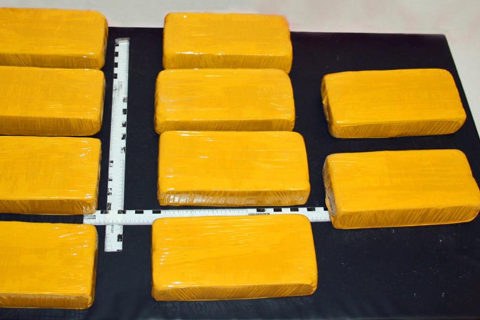 Das Heroin war in mehrere kleine Pakete gepackt.