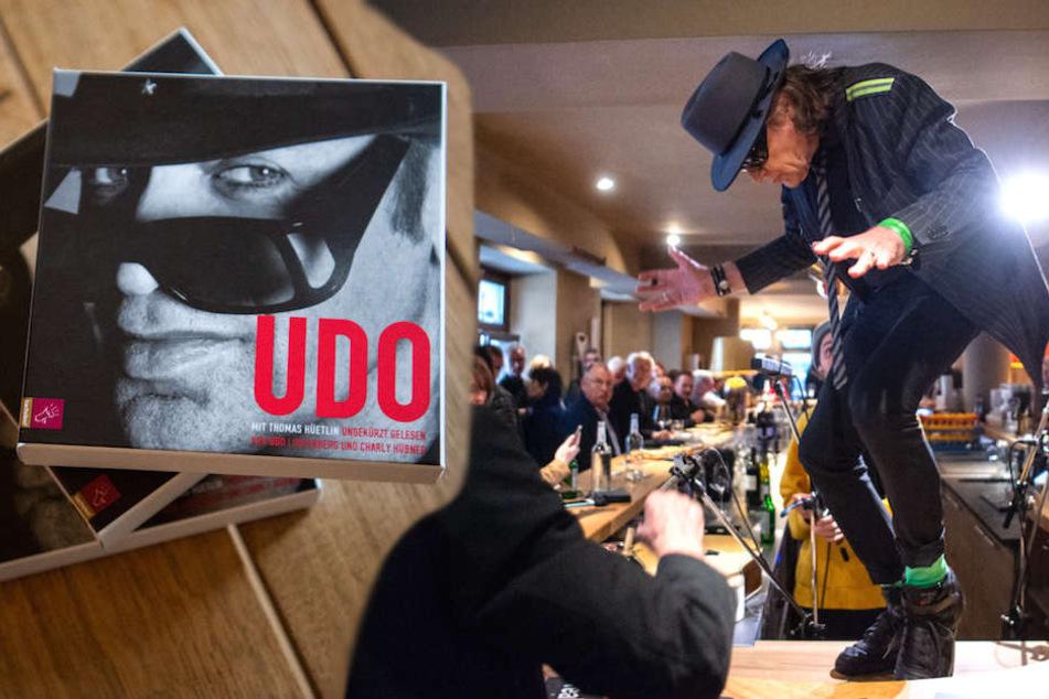 Darum tanzte Panik-Rocker Udo Lindenberg (72) in Berlin aufm Tresen