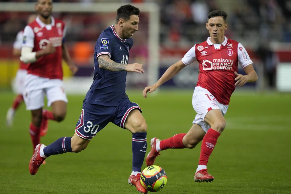 Lionel Messi (34, M.) durfte das erste Mal im PSG-Trikot ran.