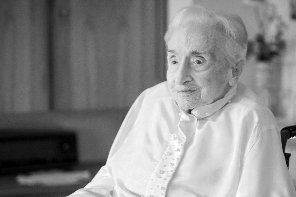 Sie erlebte sogar noch den Kaiser! Älteste Frau Deutschlands ist tot