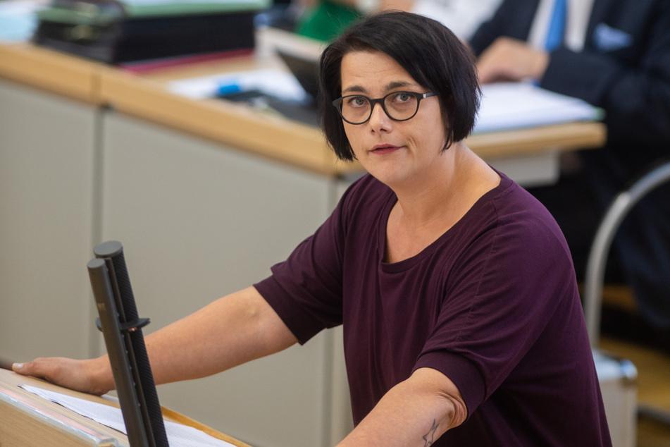 Henriette Quade (36, Die Linke) hat die Missachtung des Datenschutzes angeprangert. (Archivbild)