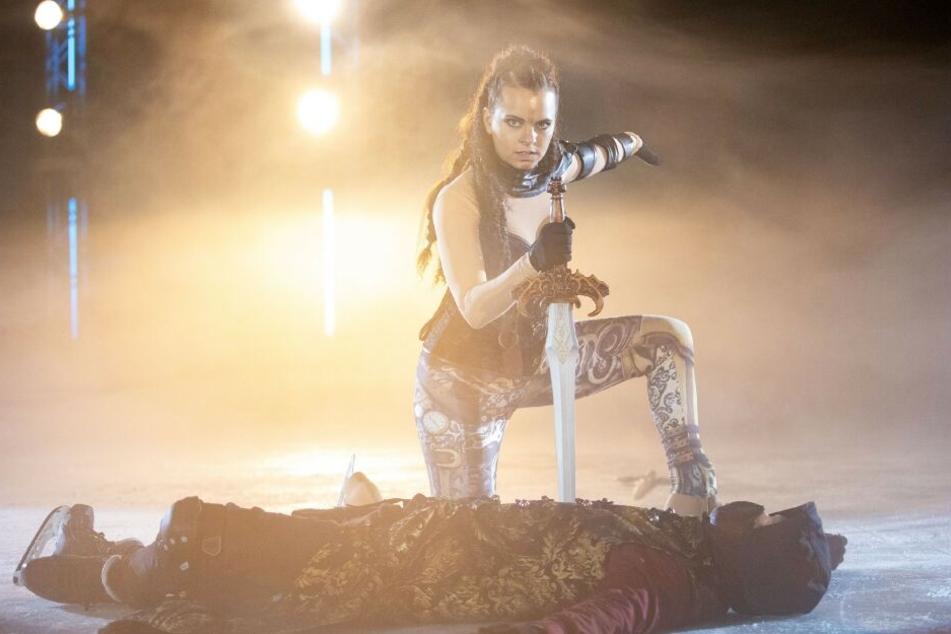 In der Soap spielte Franziska Benz (30) die Rolle der Eiskunstläuferin Michelle Bauer.