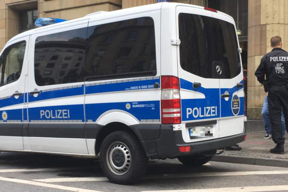 Auch die Bundespolizei ist an dem Einsatz beteiligt.