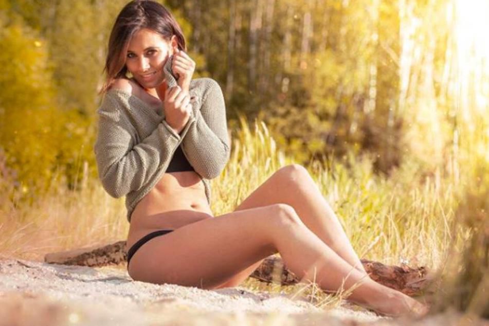 Sexy und tierlieb: Frizzi Arnold (29) setzt ihre Reize auch ein, um Tieren zu helfen.