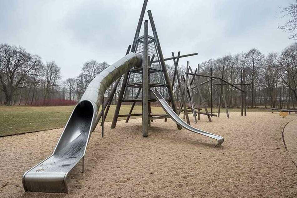Eine Erweiterung des Spielplatzes im Stadtpark liegt ebenso auf Eis.