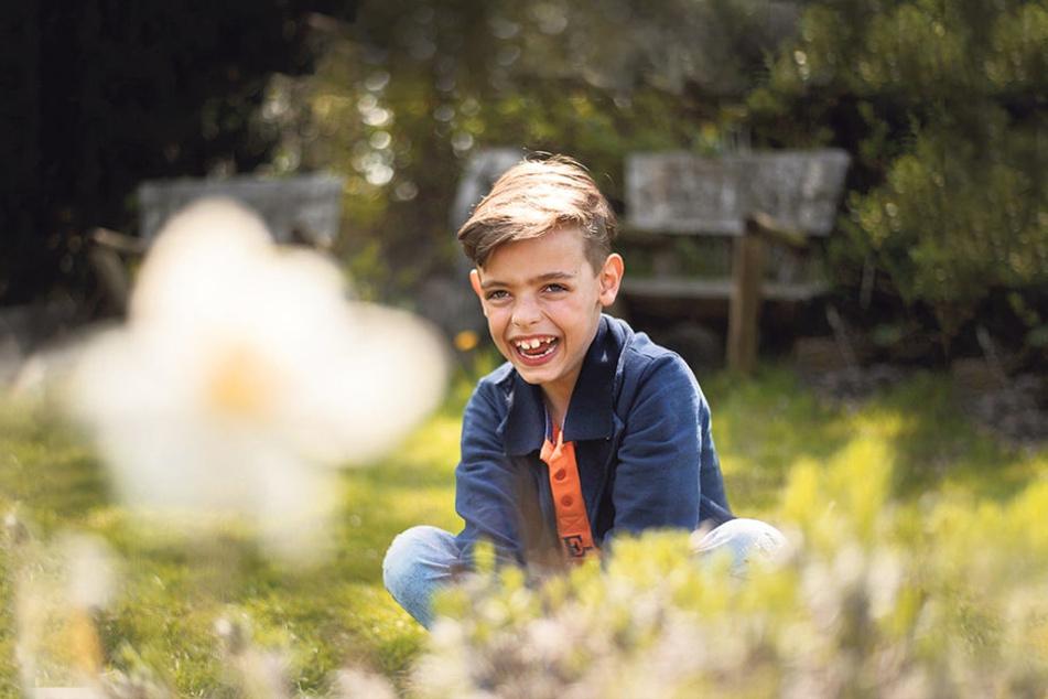 "Nachwuchs-Talent Charlie Win (9)  singt schon ""Groupies"" herbei."