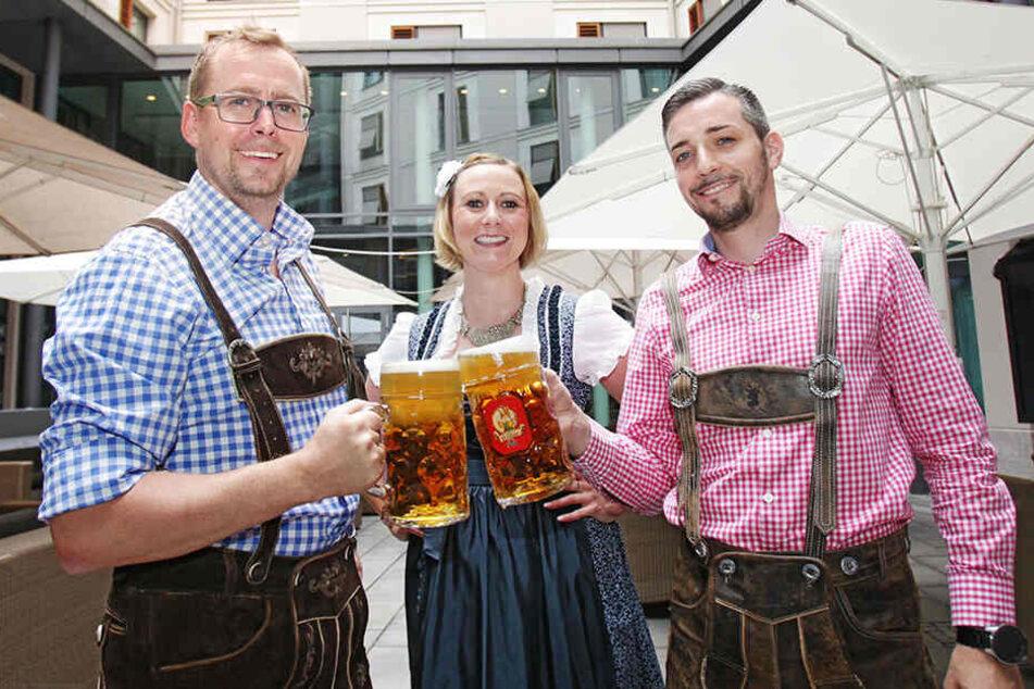 Zum Schäumen schön! Hier feiert Dresden Oktoberfest
