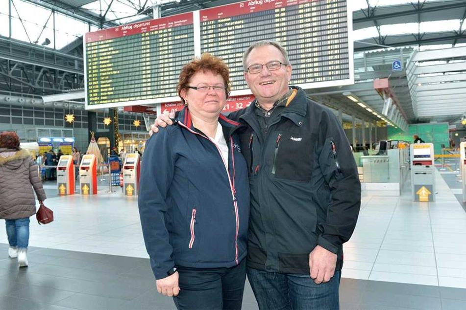 Annette (52) und Steffen Wagner (52).