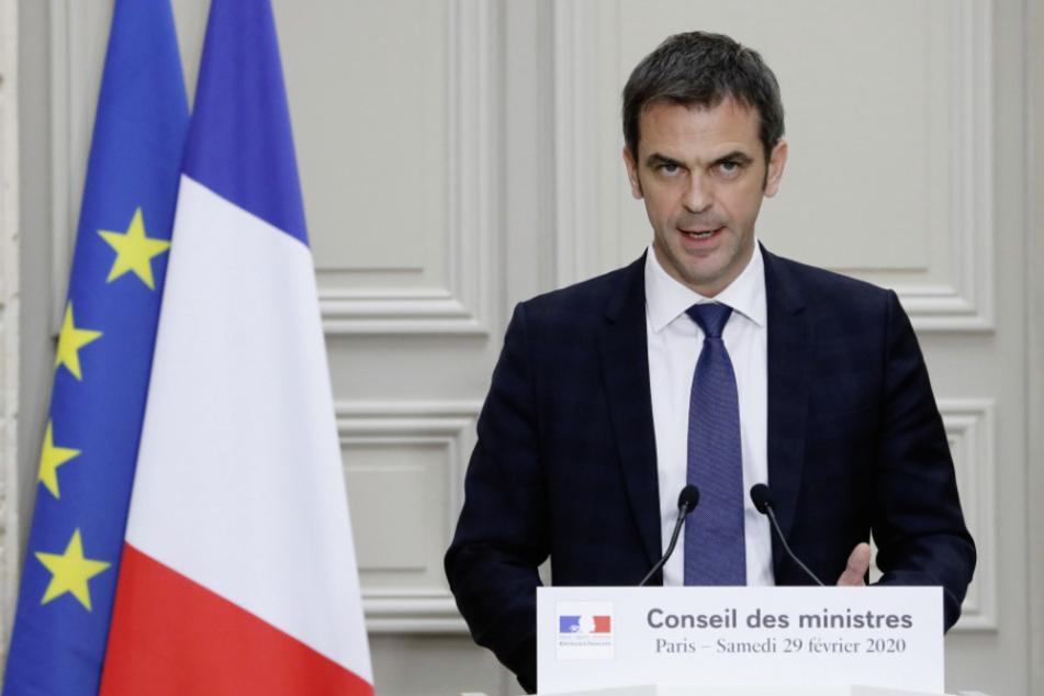 Frankreichs Gesundheitsminister Olivier Véran (40). (Archivbild)