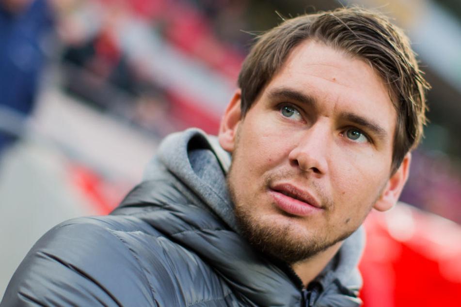 Bis zum Saisonende wird Patrick Helmes in Erfurt bleiben.