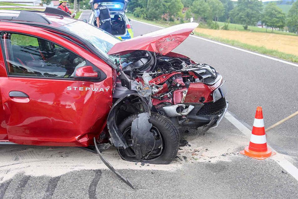 Bei dem Unfall gab es zwei Verletzte.