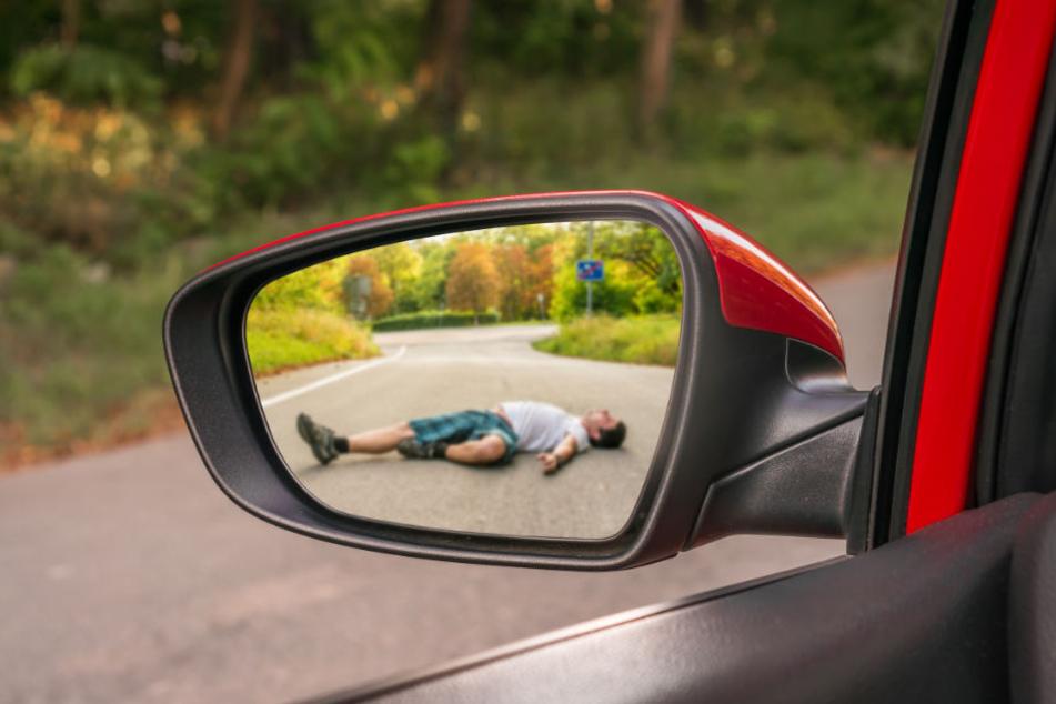 Den Unfall, bei dem sich der 31-Jährige angeblich schwer verletzte, hatte es nie gegeben. (Symbolbild)