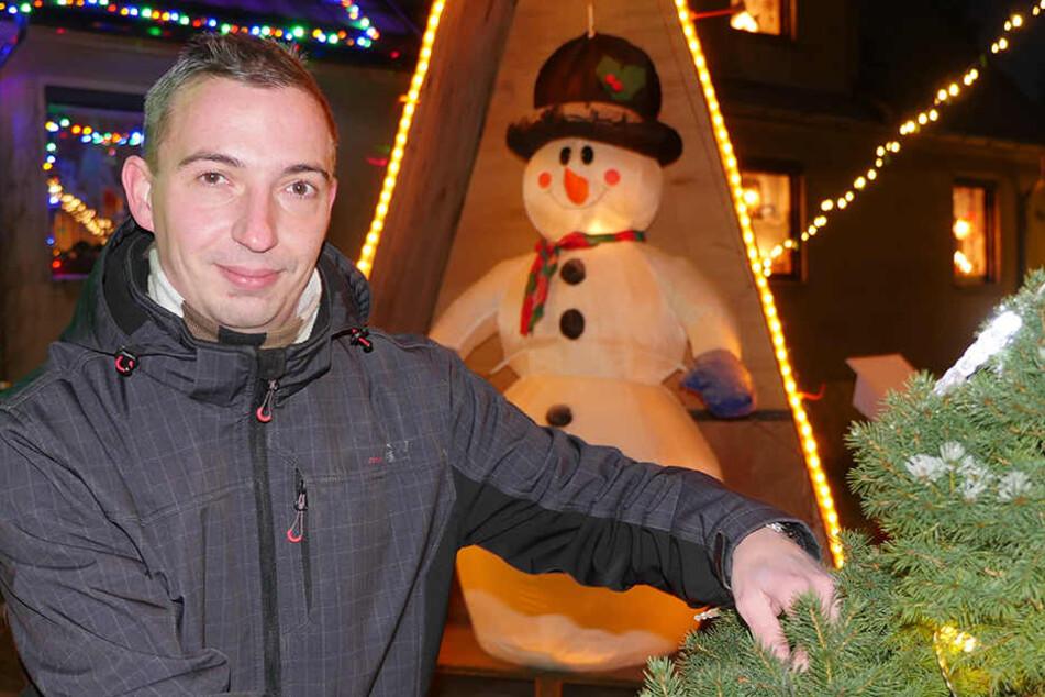 """Torsten Kluge (29) hat sich vom Ami-Schick inspirieren lassen. Nur eines will  er vermeiden: """"Es darf nicht überladen wirken."""""""
