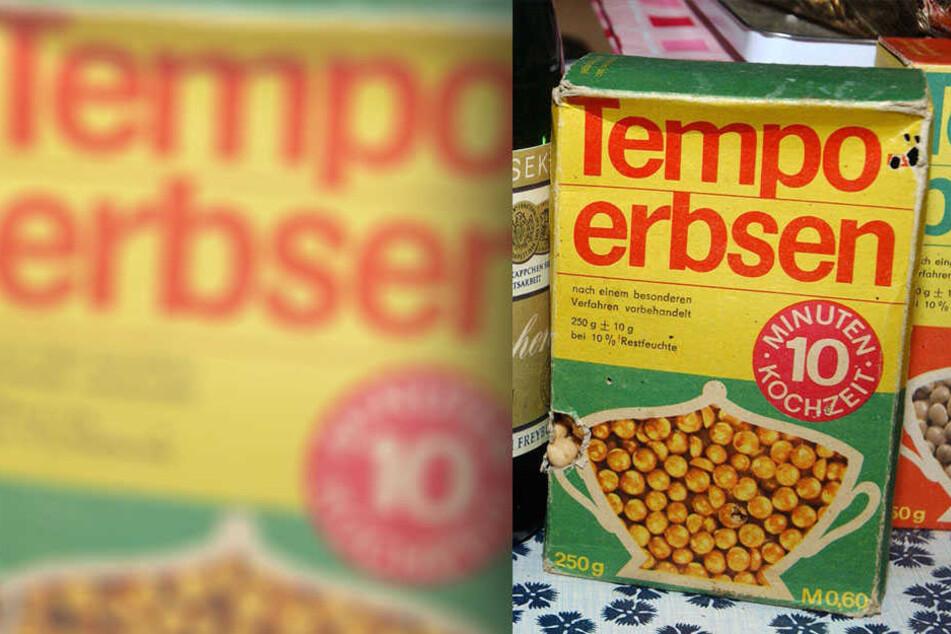 Mitunter das populärste Produkt aus der DDR-Küche: Tempoerbsen.
