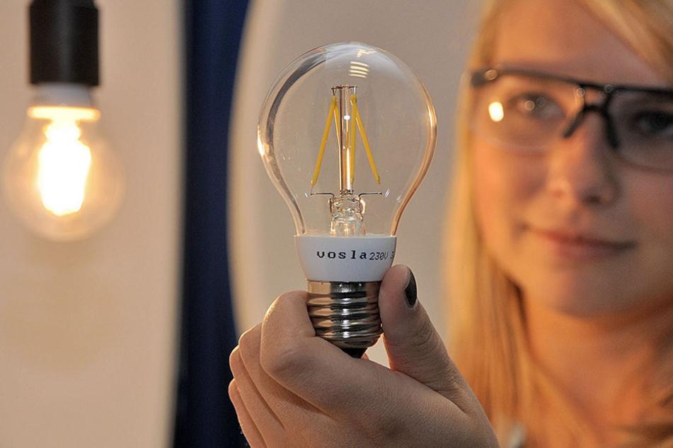 """Mit der Erfindung der """"neuen Glühbirne"""" machte Vosla in Plauen Furore. Jetzt  entlässt die Firma 100 Mitarbeiter."""