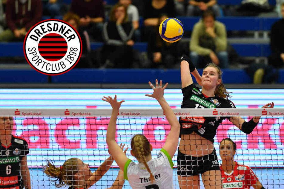 Dresdner SC und Stadt laden Schris zum Europacup-Spiel ein