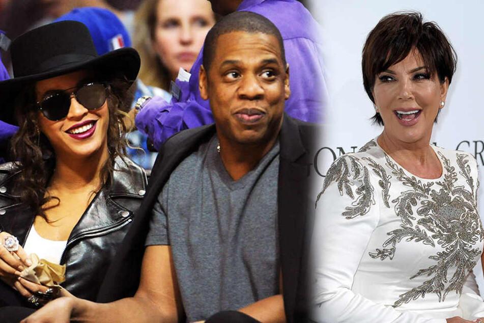 Hat Jay-Z seine Beyoncé etwa mit Kris Jenner betrogen?
