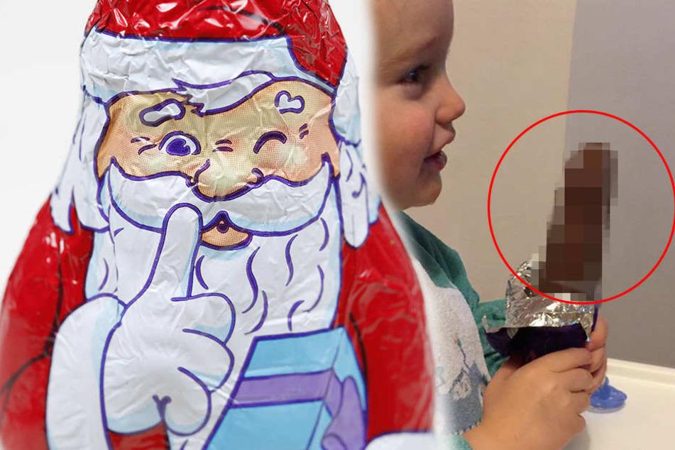 Vater entdeckt DAS bei Schoko-Weihnachtsmann