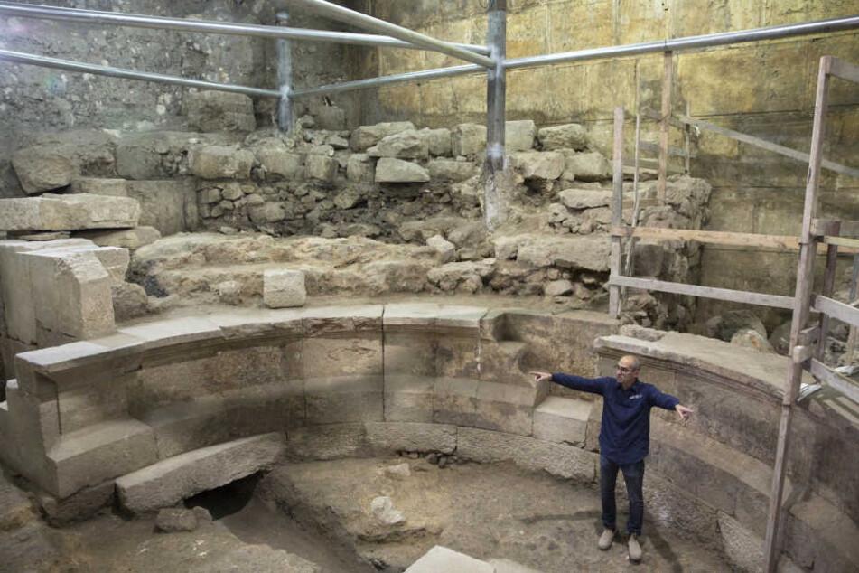 Archäologen finden in Jerusalem erstmals ein römisches Theater.