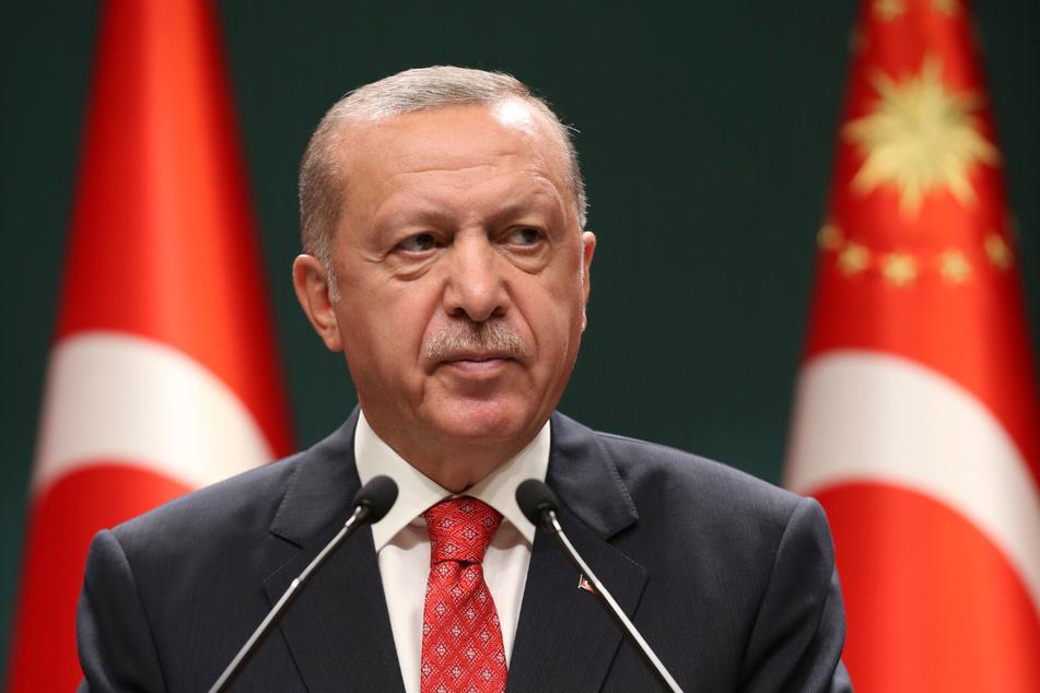 Recep Tayyip Erdogan (66), Präsident der Türkei.