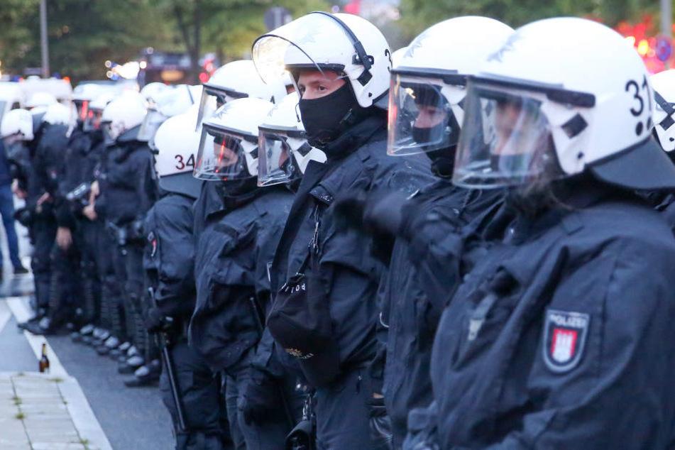 Hamburger Bereitschaftspolizisten beim G20-Gipfel. (Archivbild.)